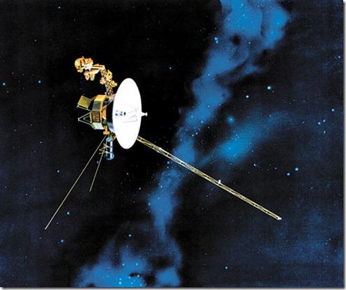 Crédito: Nasa/Divulgação. Sonda Voyager, enviada pela Nasa para o espaço profundo nos anos 1970.