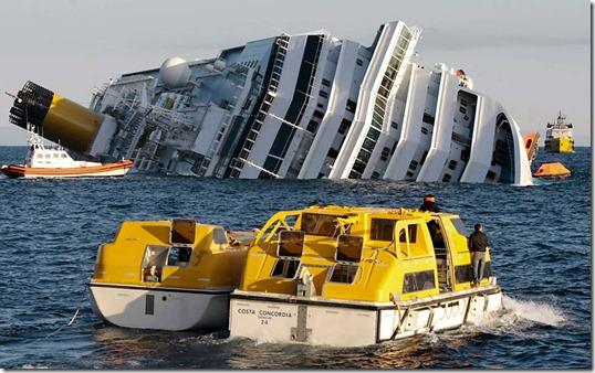 costa concordia thumb Música e sobrinha neta do Titanic estavam no Costa Concordia