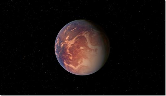 GJ667Cc thumb Descoberto planeta maior que a Terra e potencialmente habitável