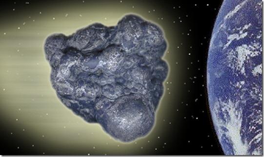 asteroide gigante thumb Asteroide gigante passará ao lado da Terra em fevereiro de 2013