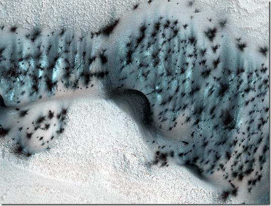 caverna marciana thumb Foto da NASA mostra caverna de gelo marciano