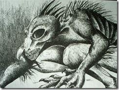 chuca cabra thumb Relato de monstro bizarro assusta moradores na Namíbia, África