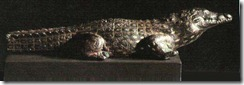 crocodilo domesticado thumb Os animais no Antigo Egito