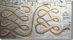 serpentes inferno thumb Os animais no Antigo Egito