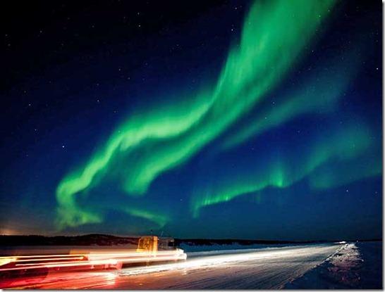aurora boreal thumb Tempestade solar será mais forte do que o previsto