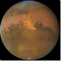 marte planeta thumb Marte fica mais próximo da Terra e pode ser observado no céu