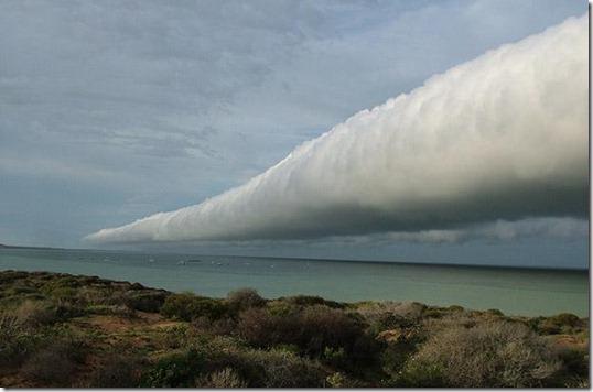 nuvem tubular australia2 thumb Foto: Nuvem tubular gigante no Brasil