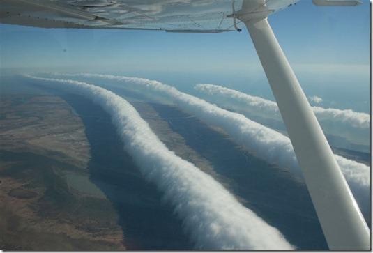 nuvem tubular australia thumb Foto: Nuvem tubular gigante no Brasil