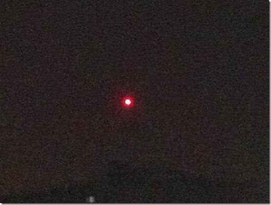 ufo vermelho sp thumb Estrela vermelha aparece nos céus de São Paulo e Campinas