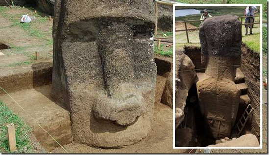 The Easter Island Statue Project is the first, methodical investigation of the statues at Rapa Nui, which many think of as simple heads. In fact, the states are complete figures buried over centuries by natural forces.
