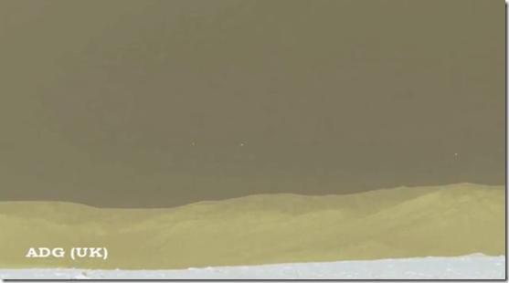 ovnis marte thumb Fotos do rover Curiosity mostram OVNIs e anomalias em Marte