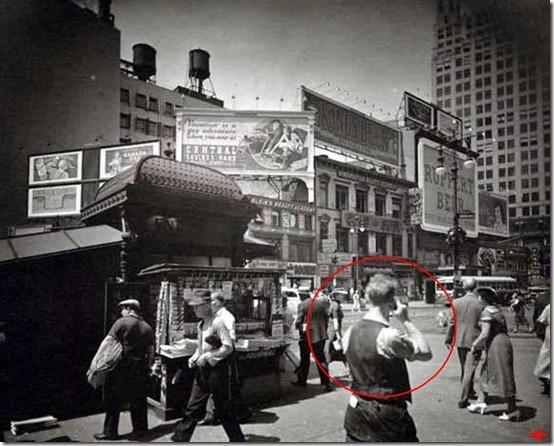 foto antiga celular thumb Advogado alega ter viajado no tempo