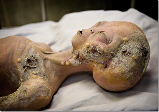 alien thumb Gravação revela detalhes sobre o Incidente de Roswell