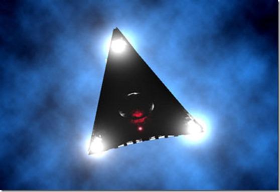 black ufo thumb Moradores relatam OVNI triangular pairando sobre Oakdale, Califórnia