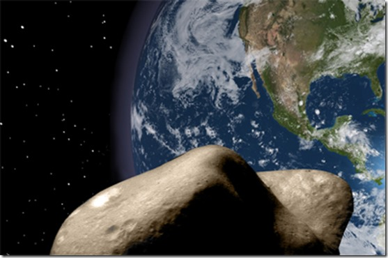 asteroide thumb Pousar em asteroides pode causar avalanches