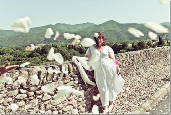 mulher casamento ponte 3 thumb Australiana se casa com uma ponte na França