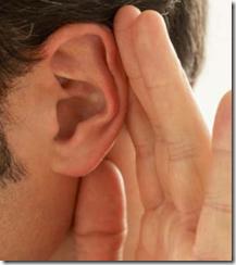 ouvir thumb Homem é capaz de ouvir pessoas antes delas falarem