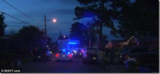 ovni norfolk thumb Militares e NASA evacuam cidade após OVNI cair do céu em Norfolk, Virginia
