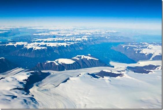 groenlandia thumb 'Grand Canyon' encontrado sob gelo da Groenlândia