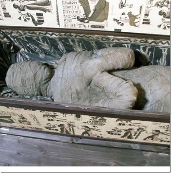 mumia alemanha thumb Múmia misteriosa encontrada no sótão de uma casa na Alemanha