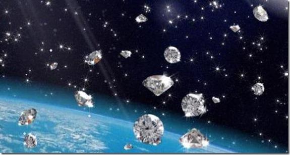 diamantes thumb Chuva de diamantes em Júpiter e Saturno