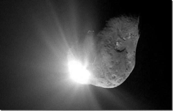 asteroide2005 thumb 2011: Asteroide 2005 YU55 passou pela Terra 15% mais perto do que a Lua