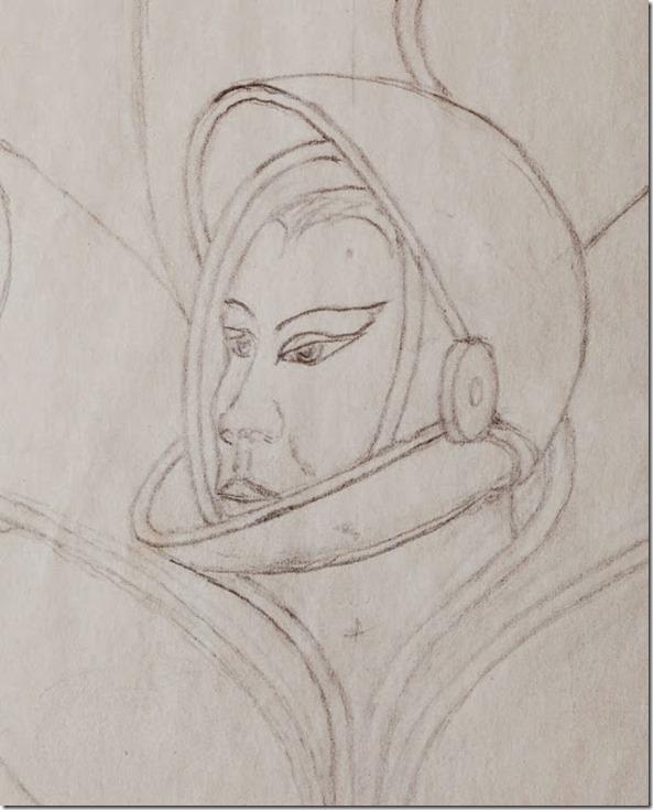 crazybox8 thumb Caixa misteriosa encontrada no lixo revela desenhos de OVNIs, extraterrestres e seres alados