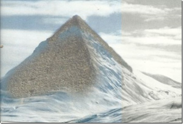 piramideantartida3 thumb Derretimento das geleiras na Antártida estão revelando pirâmides