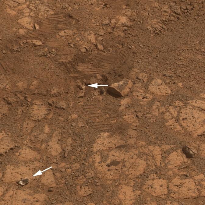 rocha marte Nasa encontra uma resposta para a rocha misteriosa em Marte