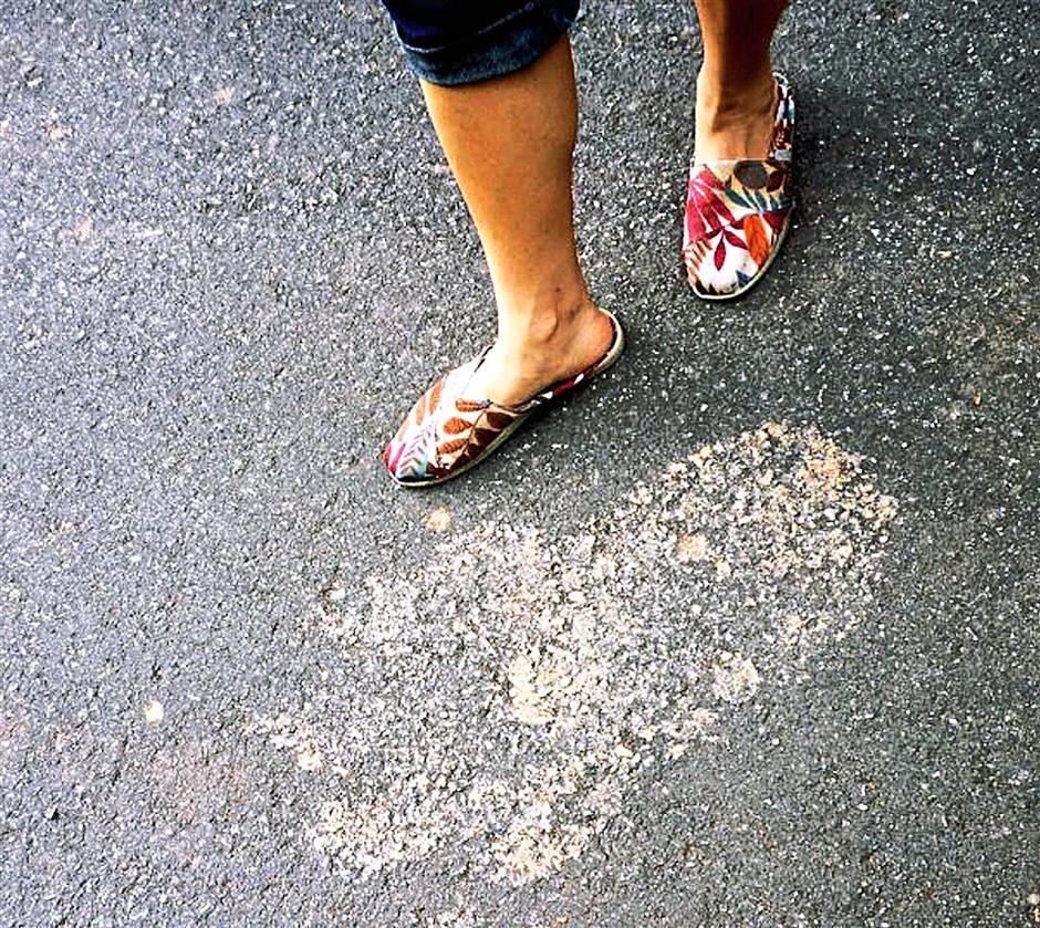 pegadas 2 Misteriosas pegadas foram encontradas por mais de 1 km na Malásia