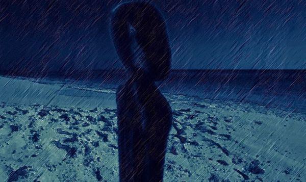 humanoide Luzes estranhas e misterioso humanóide avistados na Argentina