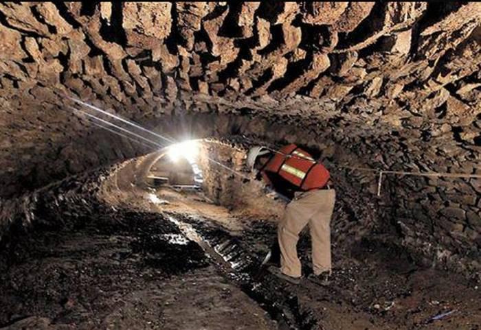 Túneis secretos subterrâneos encontrados no México