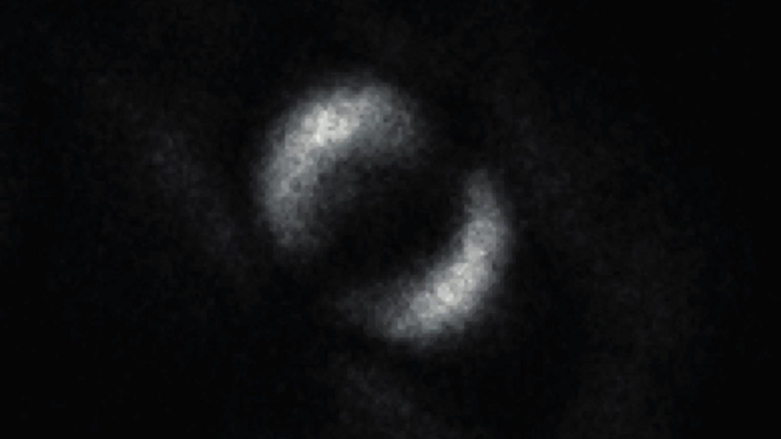 Revelada a primeira imagem do emaranhado quântico