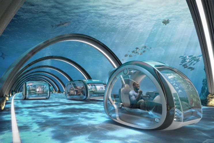Futuro projetado pela Samsung revela um mundo alienígena