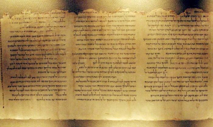 Origem dos Manuscritos do Mar Morto são questionados