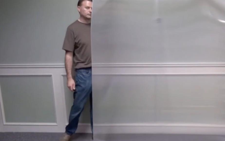 Novo material pode tornar objetos grandes quase totalmente invisíveis