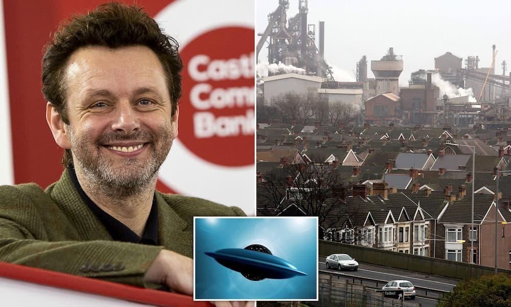 Ator Michael Sheen diz que Port Talbot está em algum mapa alienígena estranho