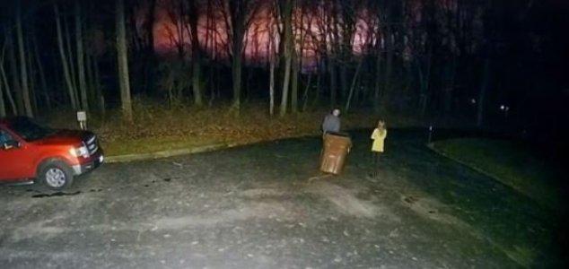 Cidade de Ohio vê flashes misteriosos e vibrações