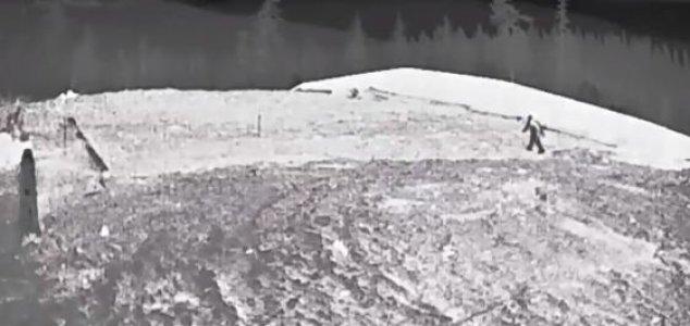 Pé Grande aparece em filmagem de webcam