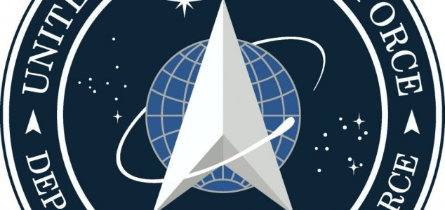 Logotipo da Space Force parece de Star Trek