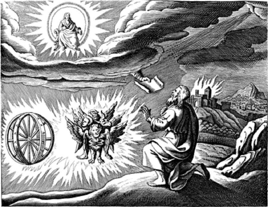 Ezequiel e a carruagem voadora de fogo: antiga tecnologia alienígena?
