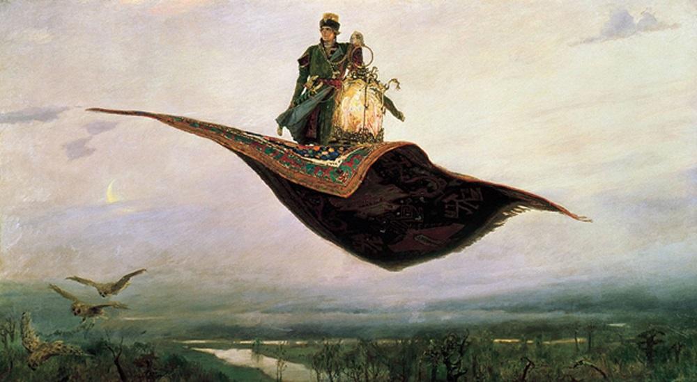 Rei Salomão e o mistério dos tapetes voadores